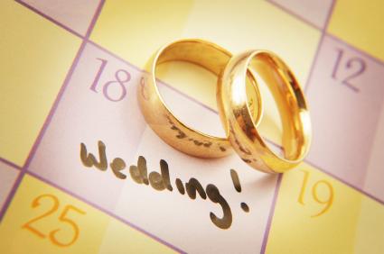 obrączki + data ślubu
